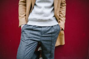 pantalon de laine